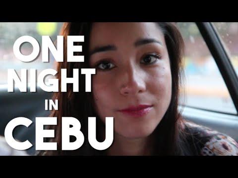 One Night in Cebu (Foreigners Travel Cebu, Bisaya - Sinulog)