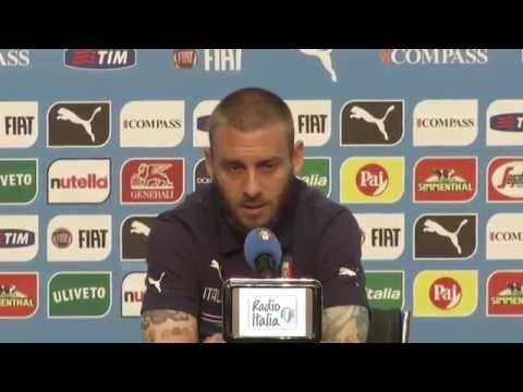 Daniele De Rossi - La conferenza stampa integrale del 17 giugno