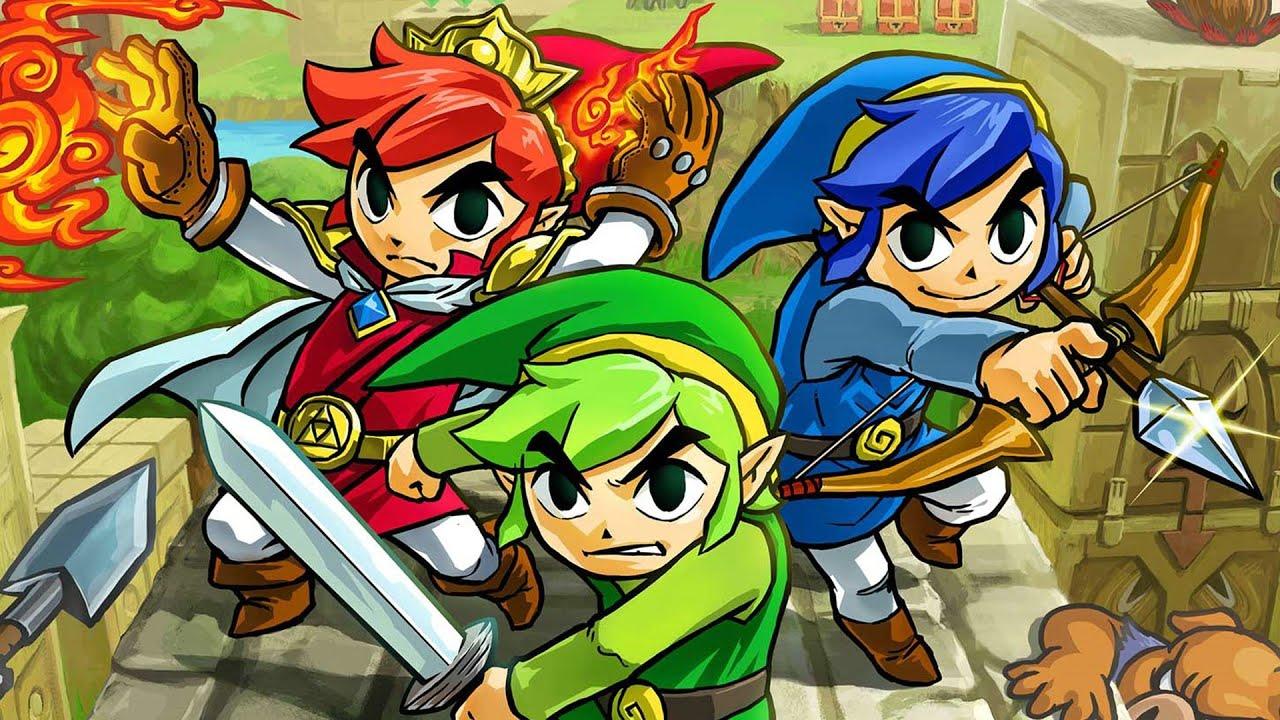 The Legend of Zelda: TriForce Heroes Rewind Theater