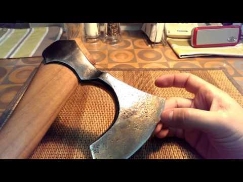 Как сделать топор своими руками в домашних условиях 2