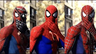 Miles Morales Punches Spider Man In All NEW DLC Suits
