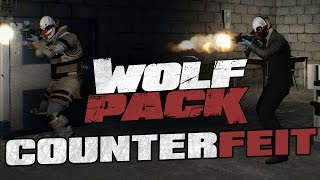 PAYDAY 2 WOLF PACK DLC: COUNTERFEIT! + ДОСТИЖЕНИЯ CROWD CONTROL, BASEMENT DWELLERS, DR. EVIL