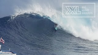 Paige Alms at Jaws 4 - 2015 Billabong Ride of the Year Entry - XXL Big Wave Awards