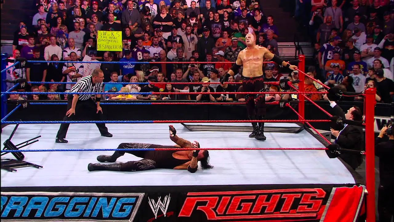 WWE - Bragging Rights 2010 - Buried Alive Match for the ...