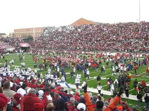 Apple Cup 2008 WSU game winning field goal Video
