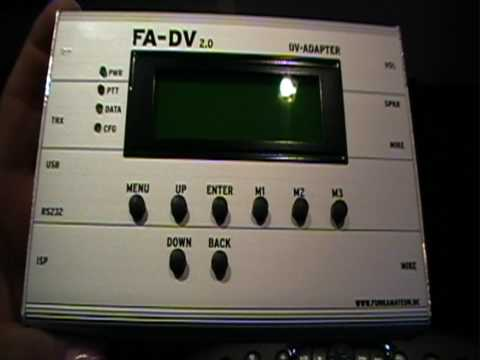 FA-DV 2.0 D-STAR DIGITAL CONVERTER