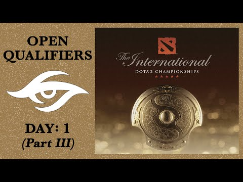 Dota 2 | Road to The International | Open Qualifiers: Day 1 - Part III