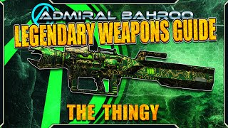 "Borderlands The Pre-Sequel: The ""Thingy"" - Legendary Weapons Guide"