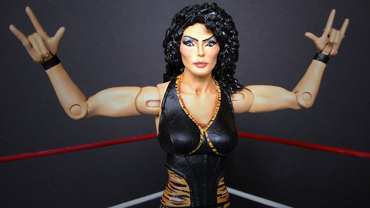 Wwe Kaitlyn Action Figure TAMINA SNUKA WWE Diva Custom