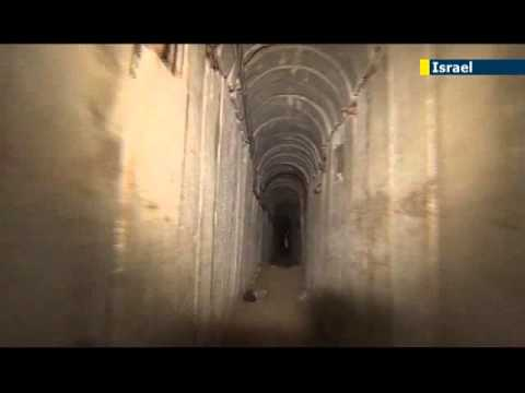 Hamas showcases terror tunnels for Al Jazeera: Palestinians use tunnels to kidnap IDF soldiers