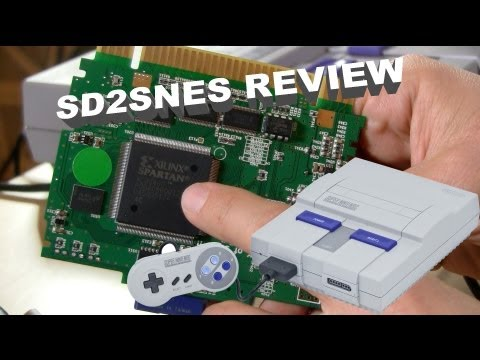 SD2SNES Review - Run Games on a Super Nintendo from an SD Card!  MSU1 Super Road Blaster Demoed