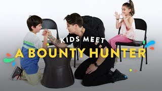 Kids Meet a Bounty Hunter | Kids Meet | HiHo Kids