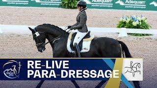 RE-LIVE Para-Dressage - Grade IV Individual | FEI World Equestrian Games 2018