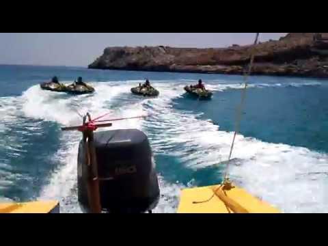 Water Sports At Greece,Rhodes Haraki