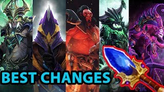 TOP 10 Best Aghanim's Scepter changes of Patch 7.06