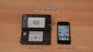 Nintendo 3DS vs iPod Touch - BWOne.com
