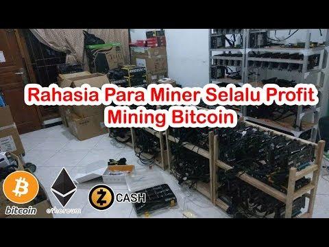 Rahasia Para Miner Selalu Profit Mining Bitcoin 2017