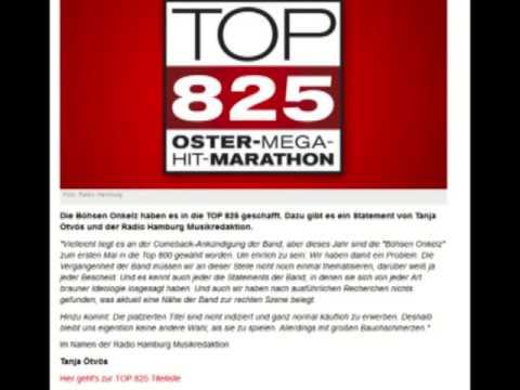 Böhse Onkelz auf Radio Hamburg Oster-Mega-Hit-Marathon