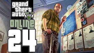 Let's Play GTA V Online (GTA 5) - EP24 - Scrapyard Gang Fight