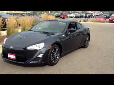2013 Scion FR-S 6 speed manual Asphalt BeSpoke Audion Review test drive walk around
