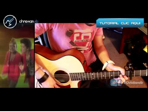 Bruno Mars - Treasure - Acoustic Guitar Cover video