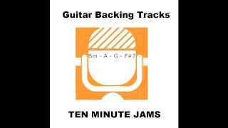 Bm - Slow Classic Rock - Backing Jam Track - i - bVII - bVI - V7