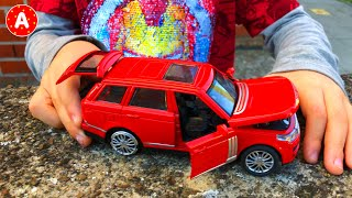 Adam Found a Teleportation Watch and Unboxing Cars Toys Hot Weels - Video for Kids