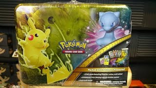 Shining Legends Collector's Chest Tin - Pokemon Opening