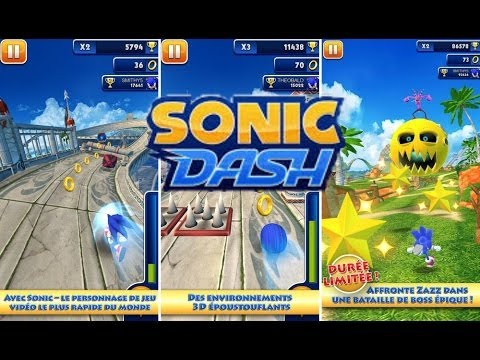 Super Juego Run•Sonic Dash•Gratis Android•GamePlay