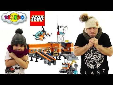 Лего Арктическая База 60036. Обзор и распаковка конструктора. Кикидо