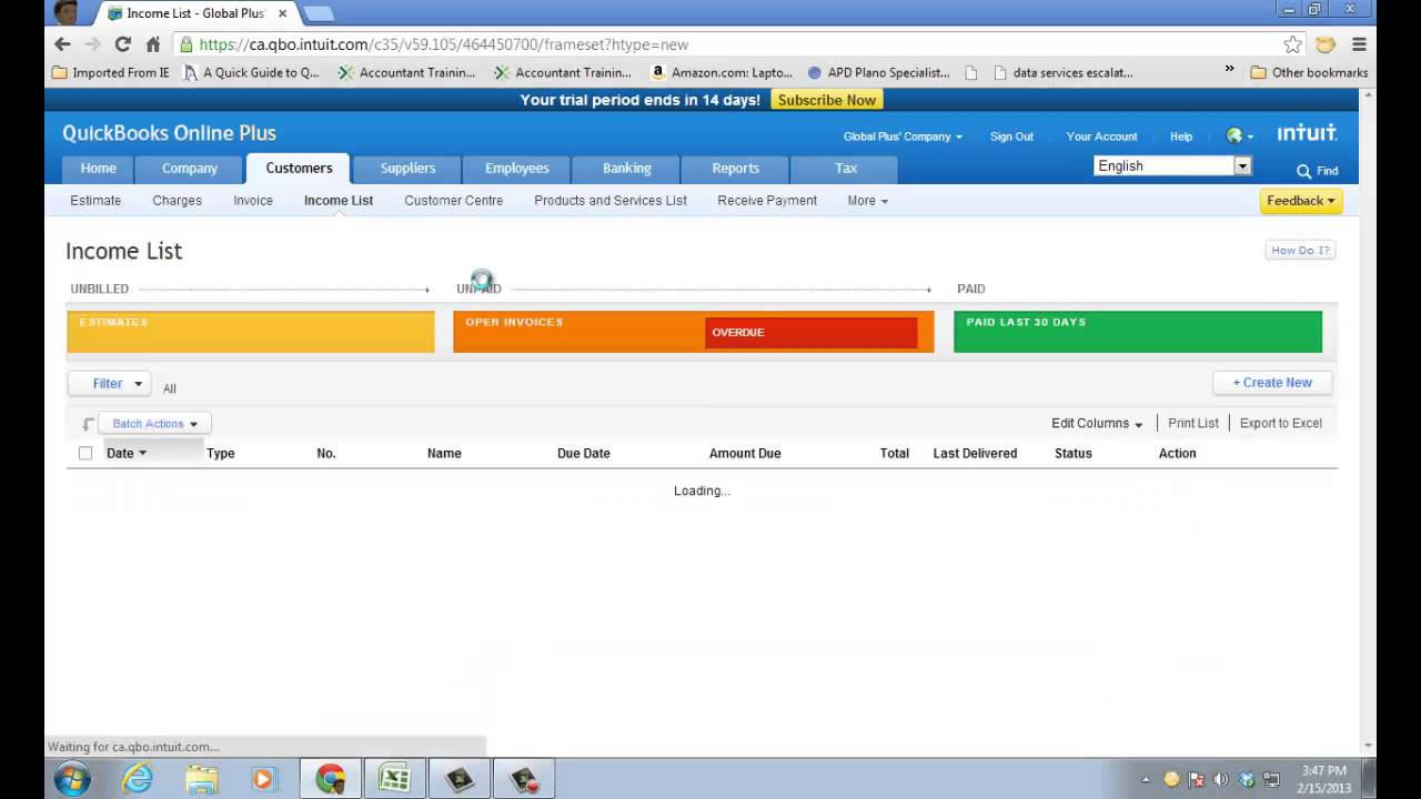 quickbooks online how to create budget