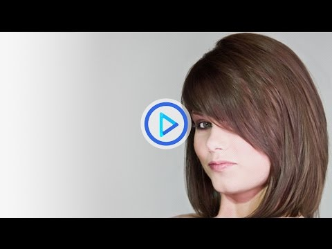 How to cut women's mid length hair -- short and long layers haircut by Lee Stafford preview 72