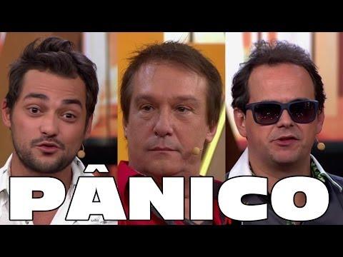 Agora é Tarde 28/03/14 completo HD - Pânico (Emílio, Carioca e Edu)