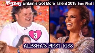 Alesha Dixon Reunited with Her First Kiss Britain's Got Talent 2018 Semi Final Grp 1 BGT S12E08