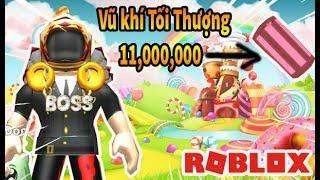 Roblox - Dùng 11,000,000 Triệu Coins Để Mua Vũ Khí Tối Thượng Đào Siêu Tốc - TOYS Mining Simulator