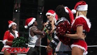 Christmas Carol Sing-off: Raw, Dec. 23, 2013