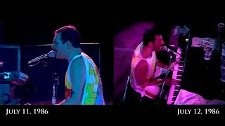 Download Lagu Queen - Bohemian Rhapsody - Wembley 1986 (both nights - combined stereo) Gratis STAFABAND