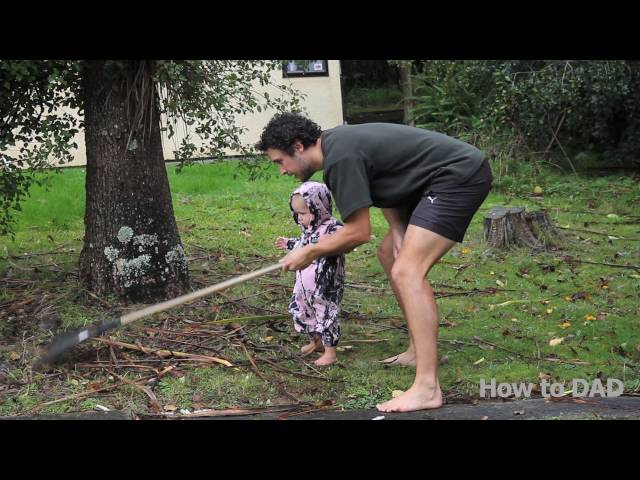 HOW TO GET A BABY TO CLEAN THE HOUSE