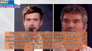 BRITs host Jack Whitehall makes SAVAGE surgery diss at Simon Cowell
