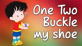 One Two Buckle my shoe | One Two Buckle my shoe Rhyme | Nursery Rhymes