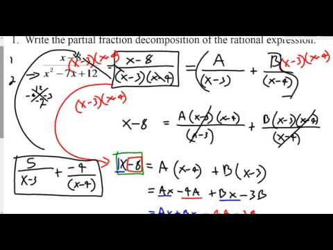integration by partial fractions examples and solutions pdf