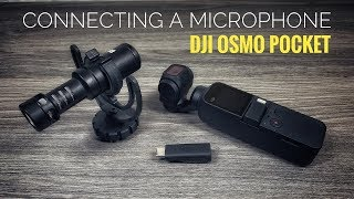 Connecting A Microphone To The DJI Osmo Pocket