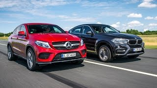 2017 BMW X6 VS 2017 Mercedes-Benz GLE coupe
