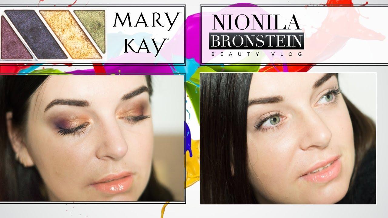 Из новогоднего макияжа ⇒ в утренний | палетка MARY KAY