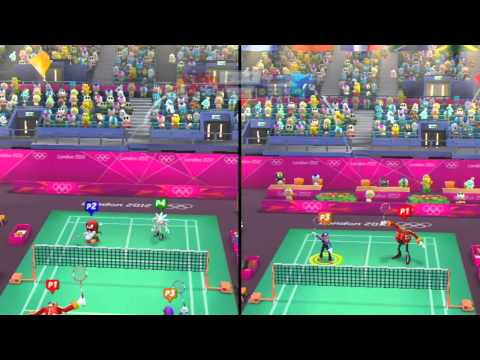 Mario and Sonic at the London 2012 Olympic Games: Part 7 - Badminton