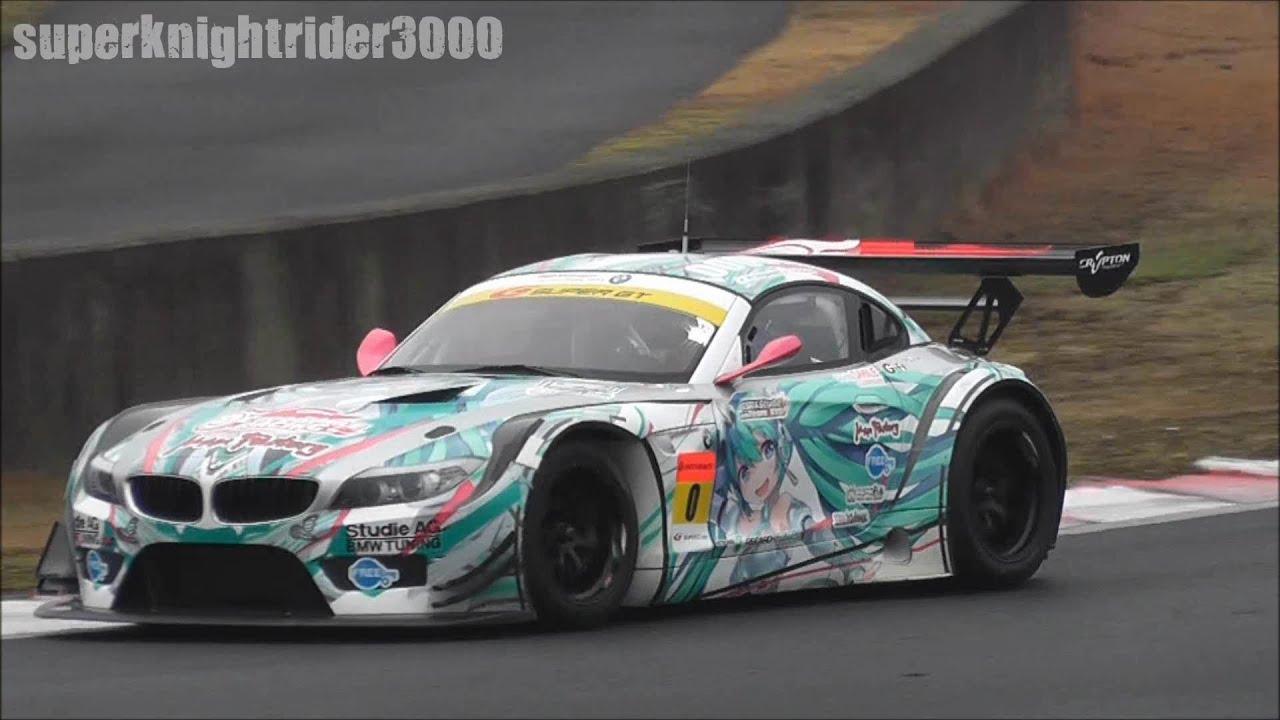スーパーgt 2012 初音ミク Bmw Z4 Gt 0 公式テスト 岡山国際サーキット 2012 3 18