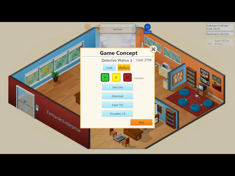 Game Dev Tycoon - Tentacle Enterprise