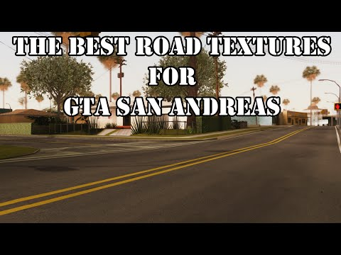 Improved texture of roads