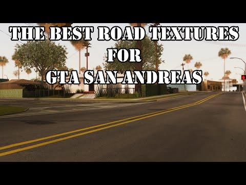 Verbesserte textur von Straßen