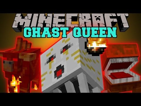 Minecraft: GHAST QUEEN A NEW DEADLY NETHER DIMENSION Nether X Mod Showcase